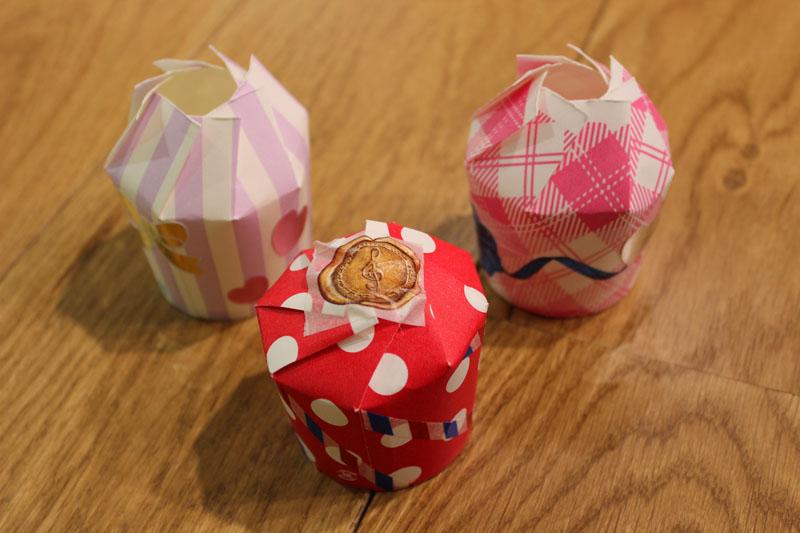 すべての折り紙 折り紙 可愛い箱 : ... も可愛い柄付の物でもOKです