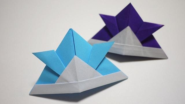 クリスマス 折り紙 兜 作り方 折り紙 : geinou-ura.com