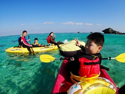 カヤック&青の洞窟 熱帯魚シュノーケル ~沖縄アンダゴ~