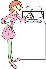 洗濯槽カビ取り