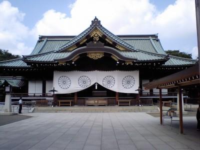 靖国神社の初詣
