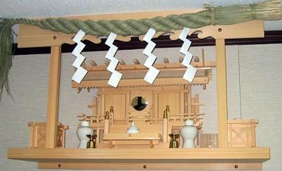 正月神棚の飾り方