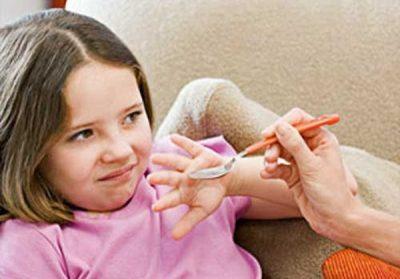 子供への粉薬の飲ませ方